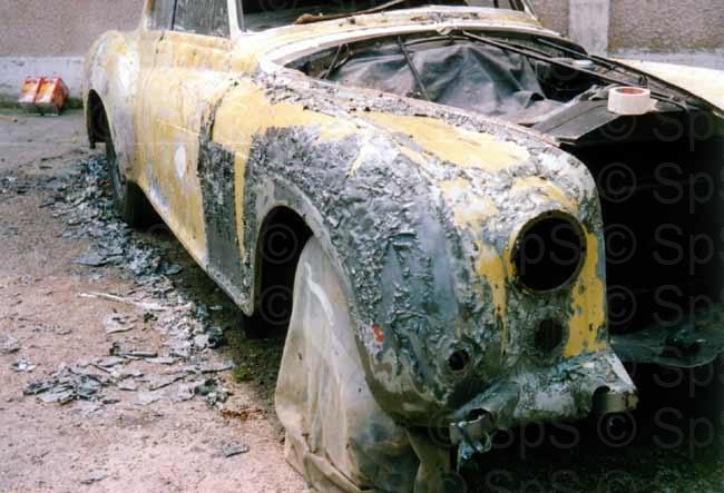 Sauzeau automobiles pieces pour rolls royce et bentley - Peinture sans decapage ...
